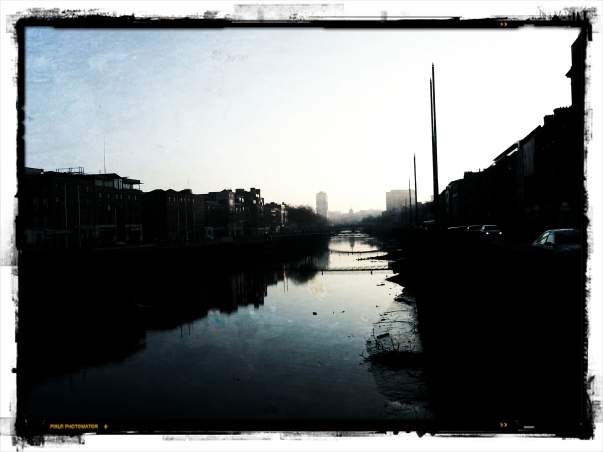 From Grattan Bridge, Dublin